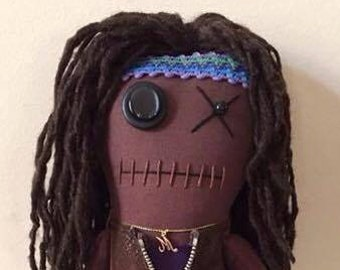 Michonne - Inspired by TWD - Creepy n Cute Zombie Doll (D)
