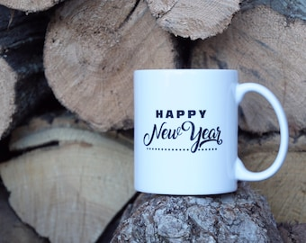 Happy New Year Mug, 11oz Mug