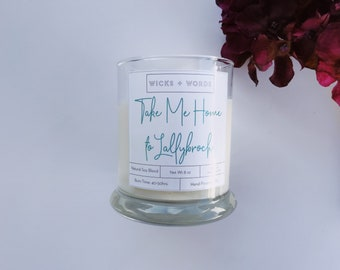 """Wicks + Words - """"Take Me Home to Lallybroch"""" - Outlander Inspired Natural Soy Candle"""