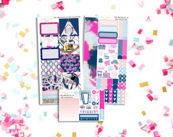 FINAL SALE Breakfast In Bed Personal Weekly Kit - stickers to fit Filofax, Kikki K and more!