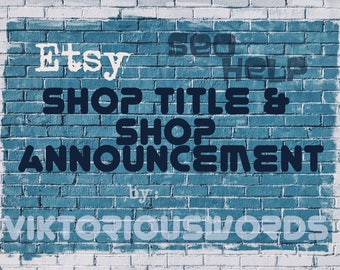 Etsy Shop SEO Search Engine Optimization Announcement Copywriting Product Marketing Tips Relevancy Tags Titles Writing How to Sell on Etsy