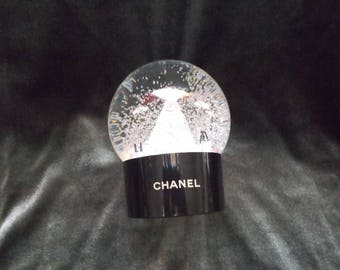 Authentic CHANEL 2012 Limited Edition Christmas Snow Globe