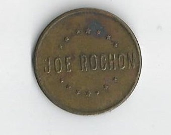 Vintage Joe Rochon Carson City Nev Token