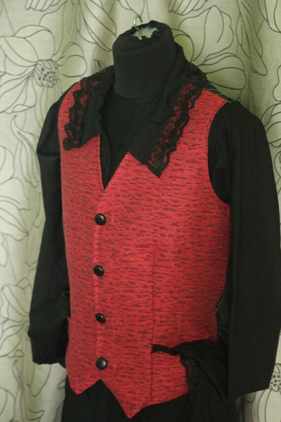Pirate vest,Men's vest,Steampunk Vest,Waistcoat pirate's clothing rustic clothes festival vest festival clothing