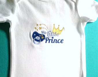 Baby Boy Little Prince Onesie