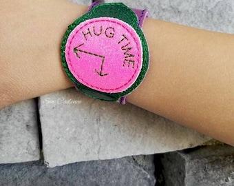 Hug Time Bracelet ~ Hug Time Watch ~ Play Watch ~ Trolls Hug Time ~ Poppy Watch ~ Poppy Bow ~ Hug Time Bow ~ Pretend Play Watch ~ Kids Watch