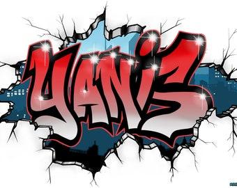 Graffiti Custom