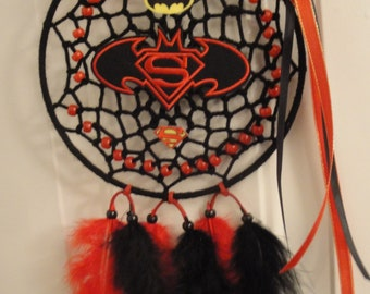 Superman VS Batman dreamcatcher, all NEW!!!!!!
