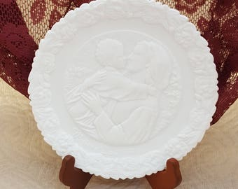 Fenton Plate Madonna of the Grotto