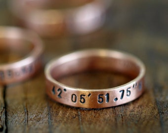 Custom ring copper band (E0187)