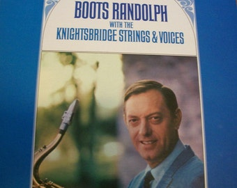 Boots Randolph LP Album 1967 Music Boots Randolph with The Knightsbridge Strings & Voices, by Nanas Vintage Shop on Etsy
