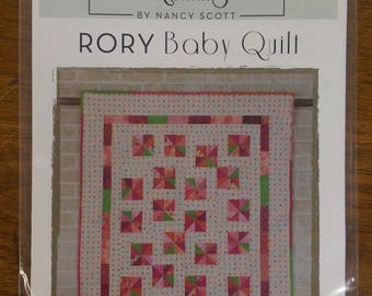 Rory Baby Quilt Paper Pattern