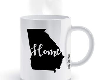 Georgia Home State Pride Coffee Mug