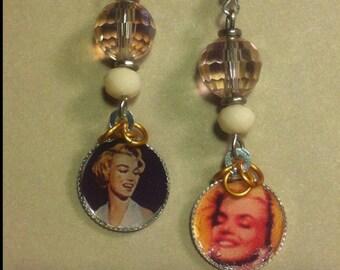 Earrings *Marilyn Monroe