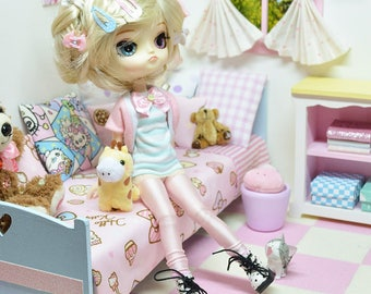 Dal Doll Outfit *** Sunday Sunrise *** DAL021 FTWR Handmade