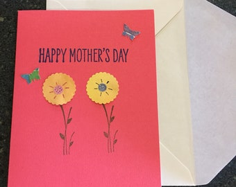 Blank Mother's Day Card