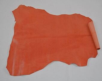 Orange Textured Velvet Lambskin Coupon
