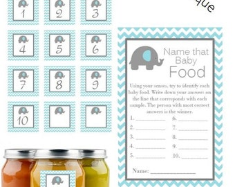 Guess baby food game   Etsy