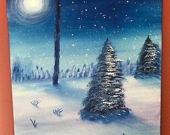 Midnight Wonderland Painting