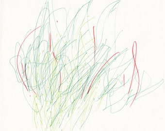 UNTITLED TWOMBLY DRAWING