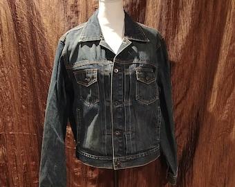 Vintage J Crew denim jacket, size medium, like new, free shipping