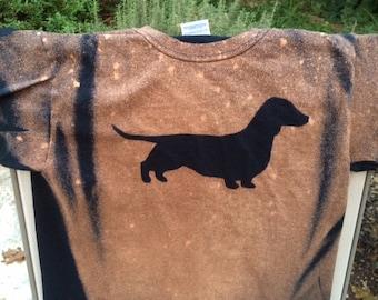 Dachshund Bleach Art Shirt