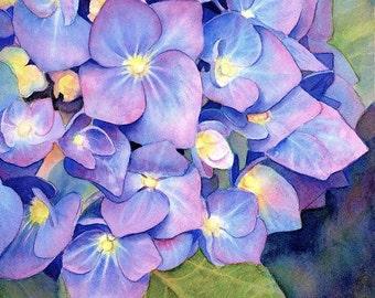 Hydrangea Stitch, Cross Stitch Flower, Floral Cross Stitch, Cross Stitch Pattern, Needlepoint Pattern, Cross Stitch Chart, Printable PDF