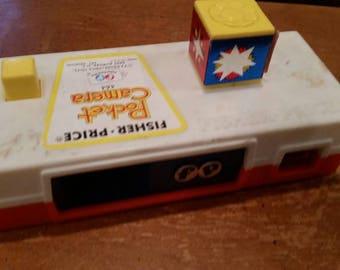 Fisher price toy pocket camera