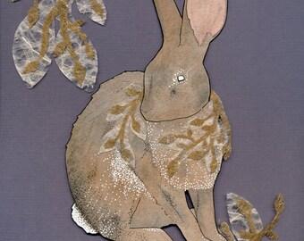 Royal Rabbit print
