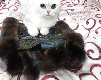 fur  clutch ladies handbag