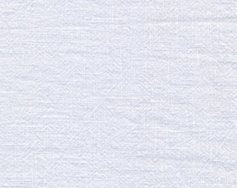 White washed linen