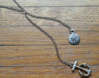 W-anchor (Wanker) necklace