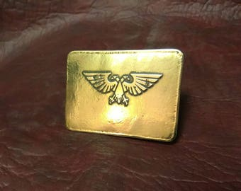 Imperial aquila belt buckle