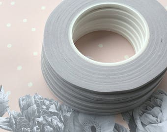 Double-sided tape, 6 rolls of 1/4 in (6mm) width, 54 yards (50 m) long, Tape for micro beads, paper craft, scrapbooking, Adhesive for