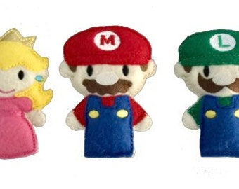 Super Mario Bros inspired Catnip Toys