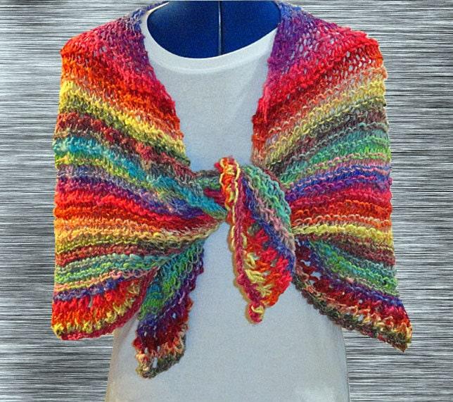 Knit Shawl Pattern Easy Knitting Pattern Easy To Knit Prayer Shawl