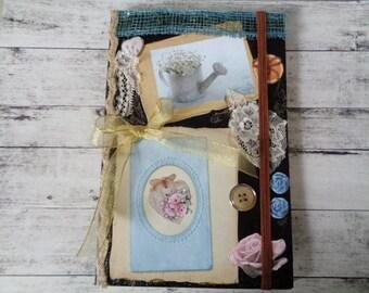 Handmade notebook,Intimate book,Romantic  Notebook