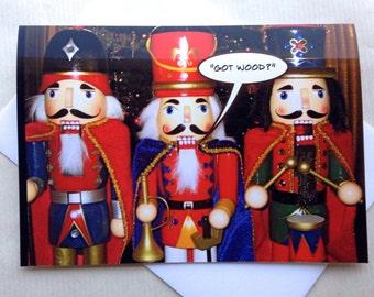Funny Christmas Card - Funny Photo Christmas Card - Adult Christmas Card - One of a kind