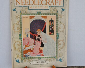 Vintage Needlecraft Magazine June 1927