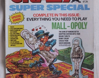 Crazy Magazine July 1980 Issue No. 64 Super Special