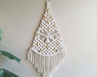 Macrame Wall Hanging / Macrame Tree/ Christmas Macrame Tree/ Boho Wall Art/ Bohemian