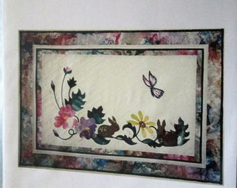 Garden Delight Wall Quilt Pattern by Bonnie Kaster