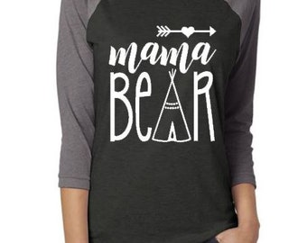 Mama Bear shirt, New Mom shirt, Mama shirt, Mama bear, Mother's Day gift, Gift for Mother, New Mom gift, Baby Shower gift, Pregnancy reveal