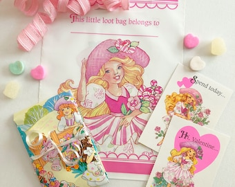 Vintage Peppermint Rose Sweet Present Pack