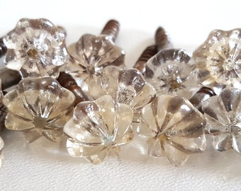 Mirror nails etsy 1 antique mirror nail with glass decoration venetian mirrors and chandeliers with glass head crystal aloadofball Images