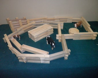 Farm Play Set Toy Fence, Ranch Play Set
