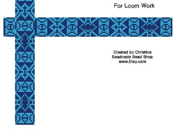 Bows and Arrows Bead Loom Pattern