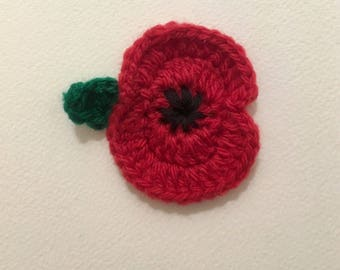 Poppy Badge Brooch for Remembrance Day