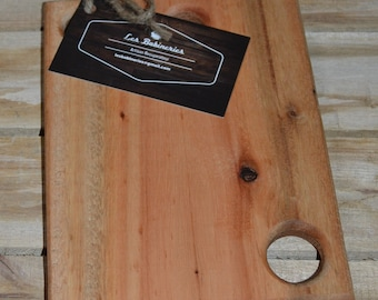 Mini Board is reclaimed acacia wood hand made cheese