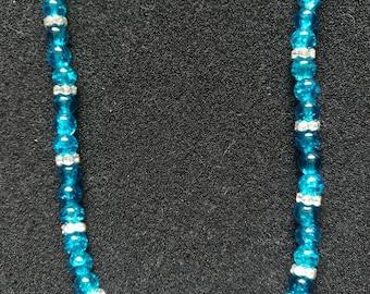 247. Bead & Rhinestone Necklace